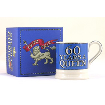 Diamond Jubilee 1/2 Pint Mug