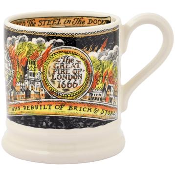 Great Fire of London 1/2 Pint Mug