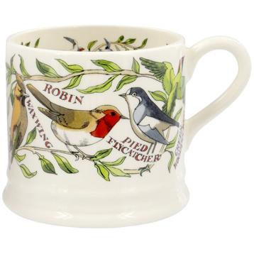 Garden Birds Baby Mug (Swallow, Waxwing Version)