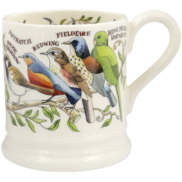 Garden Birds ½ Pint Mug