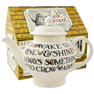 Hen & Toast 3 Mug Teapot