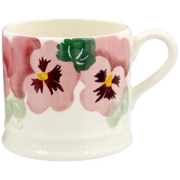 Pink Pansy Baby Mug