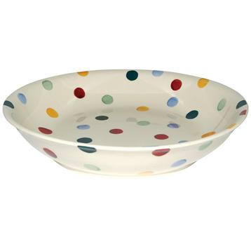 Polka Dot Pasta Bowl