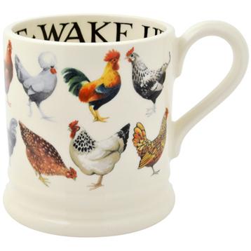 Row Hens & Toast ½ Pint Mug