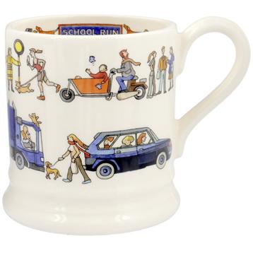 School Run ½ Pint Mug