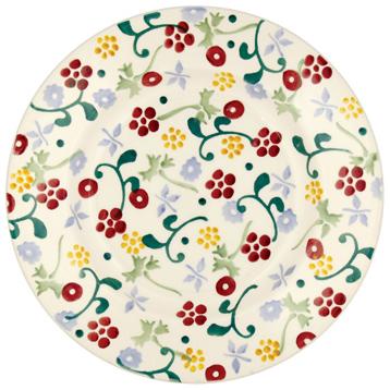 "Spring Floral 8½"" Plate"