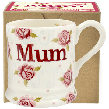 Tiny Scattered Rose Mum ½ Pint Mug