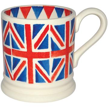 Union Jack ½ Pint Mug