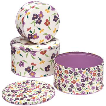 Set of 3 Cake Tins