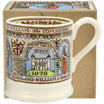 William The Conqueror ½ Pint Mug