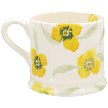 Yellow Wallflower Baby Mug