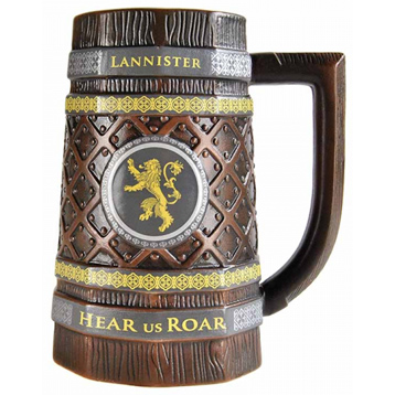 House Lannister Embossed Collectible Stein
