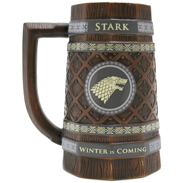 House Stark Embossed Collectable Stein
