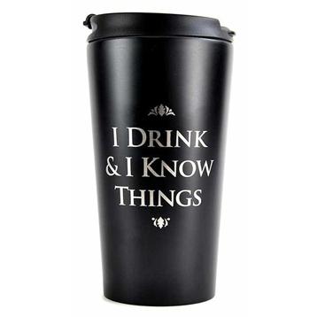 'I Drink & I know Things' Travel Mug