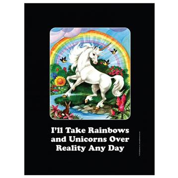 I'll Take Rainbows Small Tin Sign