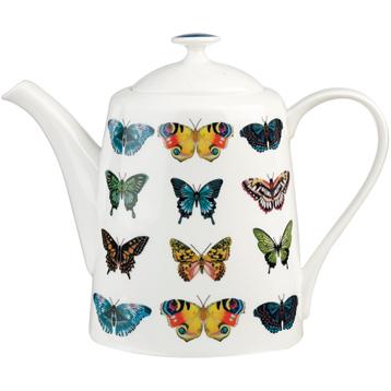 Amazilia Papilio Maple Fine Bone China Teapot (BOXED)