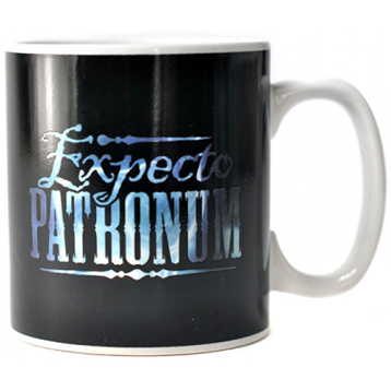 Patronus Heat Changing 400ml Ceramic Mug
