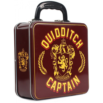 """Quidditch Captain"" Tin Tote Square Box"