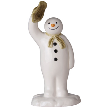 The Snowman Waving Goodbye Figurine