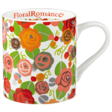 Floral Romance Fine Bone China Mug