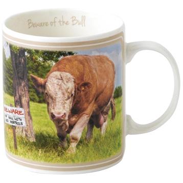 Beware of The Bull Mug