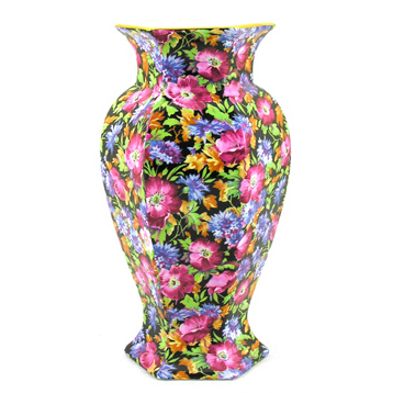Majestic Hexagonal Vase