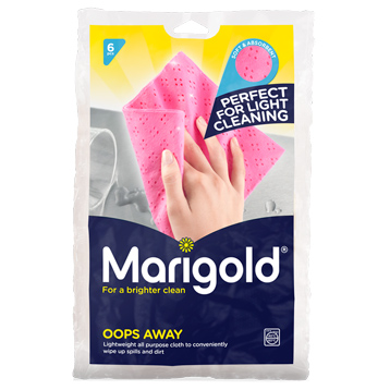 Marigold Oops Away All Purpose Cloth (6 Pieces)