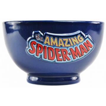 The Amazing Spider-Man Embossed Ceramic Bowl