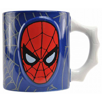 Spiderman Embossed Mug