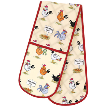 McCaw Allan Chickens Double Oven Glove