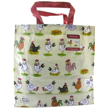 McCaw Allan Chickens PVC Medium Gusset Bag