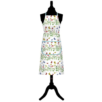 Herbs & Butterflies Cotton Apron