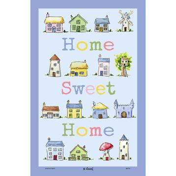 McCaw Allan Home Sweet Home Cotton Tea Towel