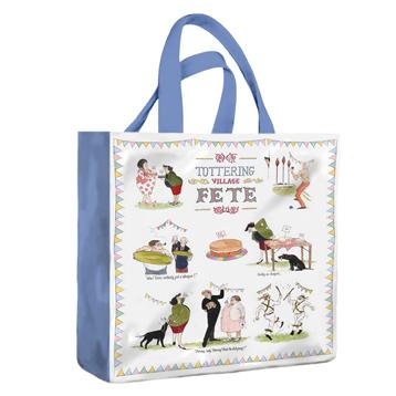 Tottering Garden Party Medium PVC Bag