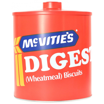 Mcvitie's Digestives Biscuit Barrel