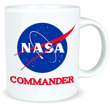 NASA Commander 350ml Ceramic Mug