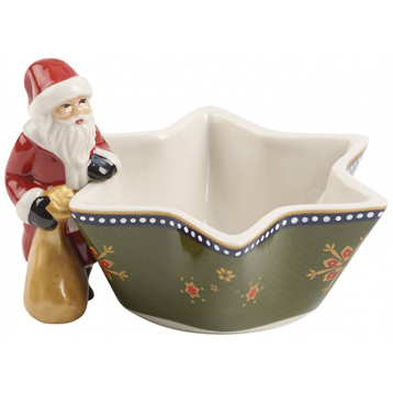 Nostalgic Light Tea Light Holder Santa