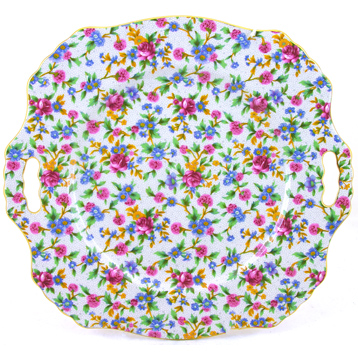 Old Cottage Bread & Butter Plate