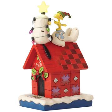 "Peanuts ""Merry & Bright"" Figurine"