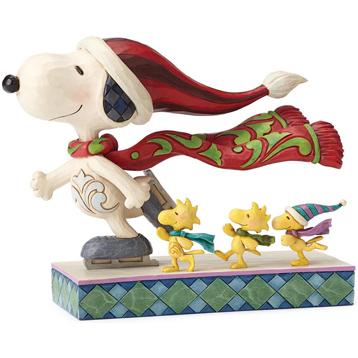 """Peanuts """"Skate Mates"""" Figurine"""