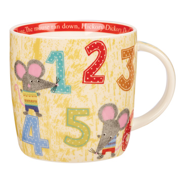 Hickory Dickory Dock Spice Mug in Gift Box 284ml