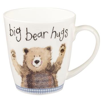 Big Bear Hugs Sparkle Cherry Mug 360ml