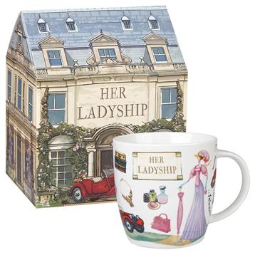 Her Ladyship Squash Mug 400ml in Gift Box