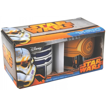 R2D2 & C3PO Set Of 2 Egg Cups