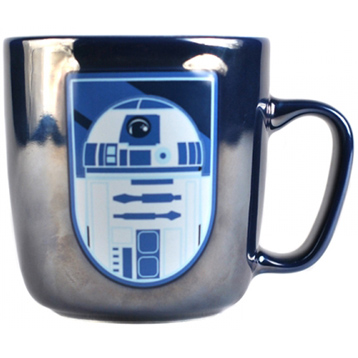 R2D2 Embossed Metallic Mug