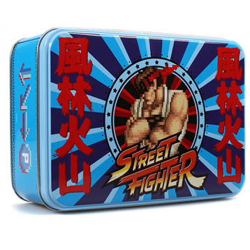 Street Fighter Ryu Rectangular Storage Tin