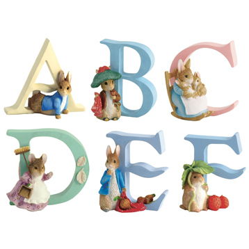 The World of Beatrix Potter Alphabet