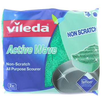 Active Wave Foam Back Scourer