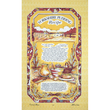 Yorkshire Pudding Tea Towel